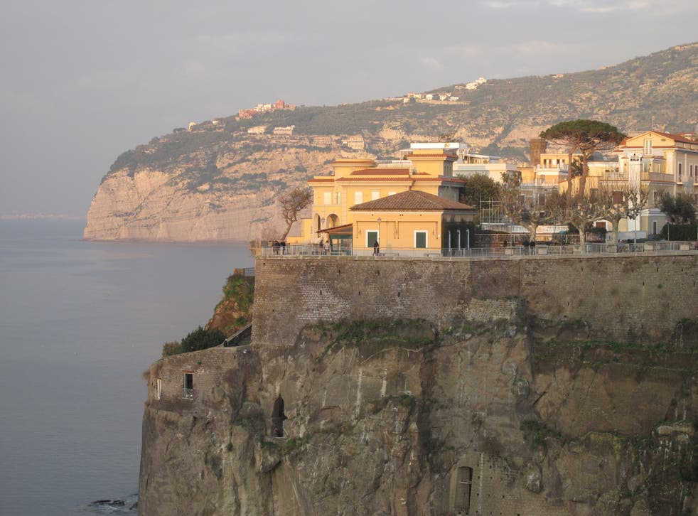 <p>Distant dream: Sorrento and the Bay of Naples</p>