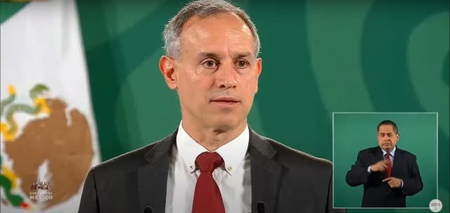 <p>El subsecretario de Prevención y Promoción de la Salud, Hugo López-Gatell. durante la Mañanera de este martes 3 de agosto.</p>