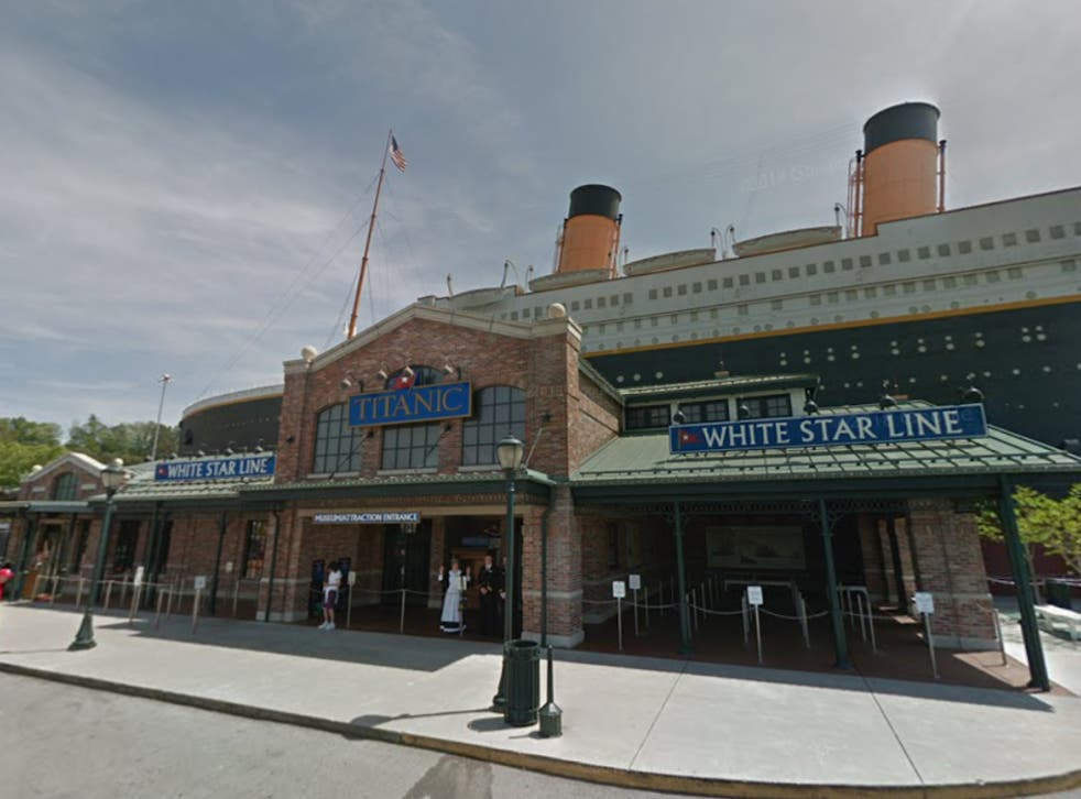 <p>The incident took place at the Titanic Museum in Pigeon Forge</p>