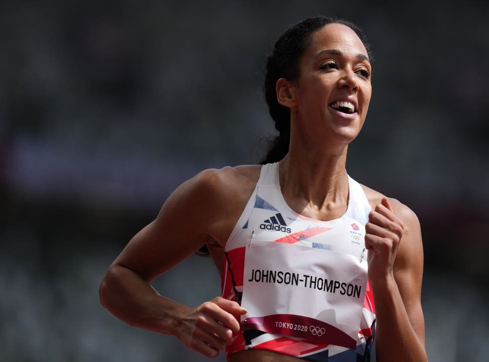 Great Britain's Katarina Johnson-Thompson started her heptathlon campaign (Martin Rickett/PA)