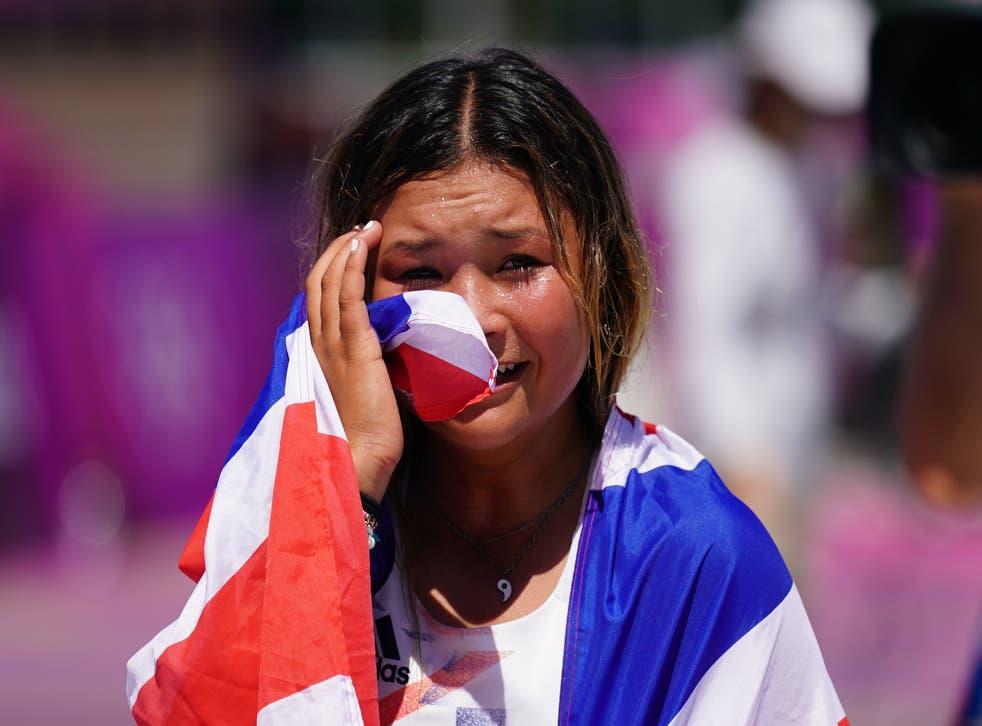 Sky Brown made British history on Wednesday (Adam Davy/PA)