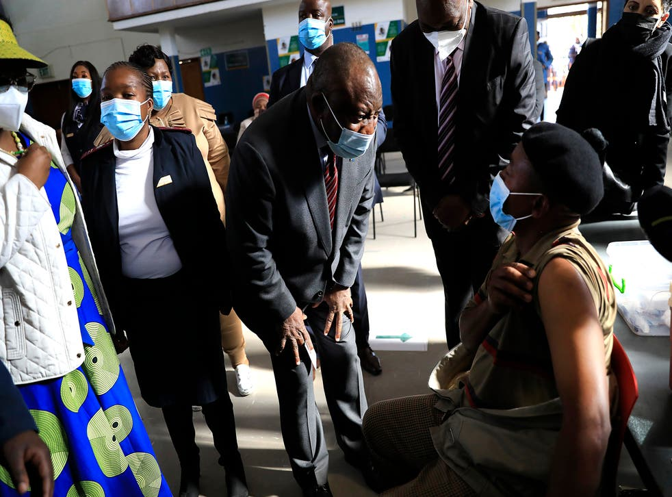 Virus Outbreak South Africa Vaccinations