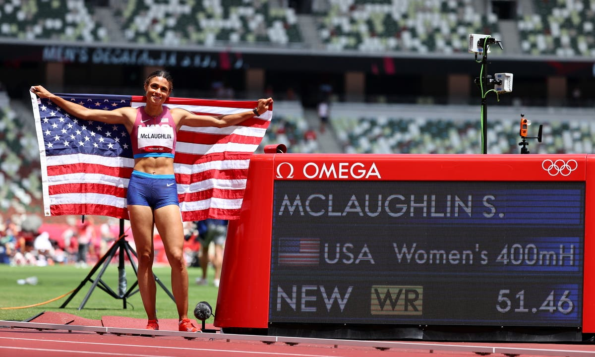 Sydney McLaughlin smashes her own 400m hurdles world record to take Tokyo gold - The Independent