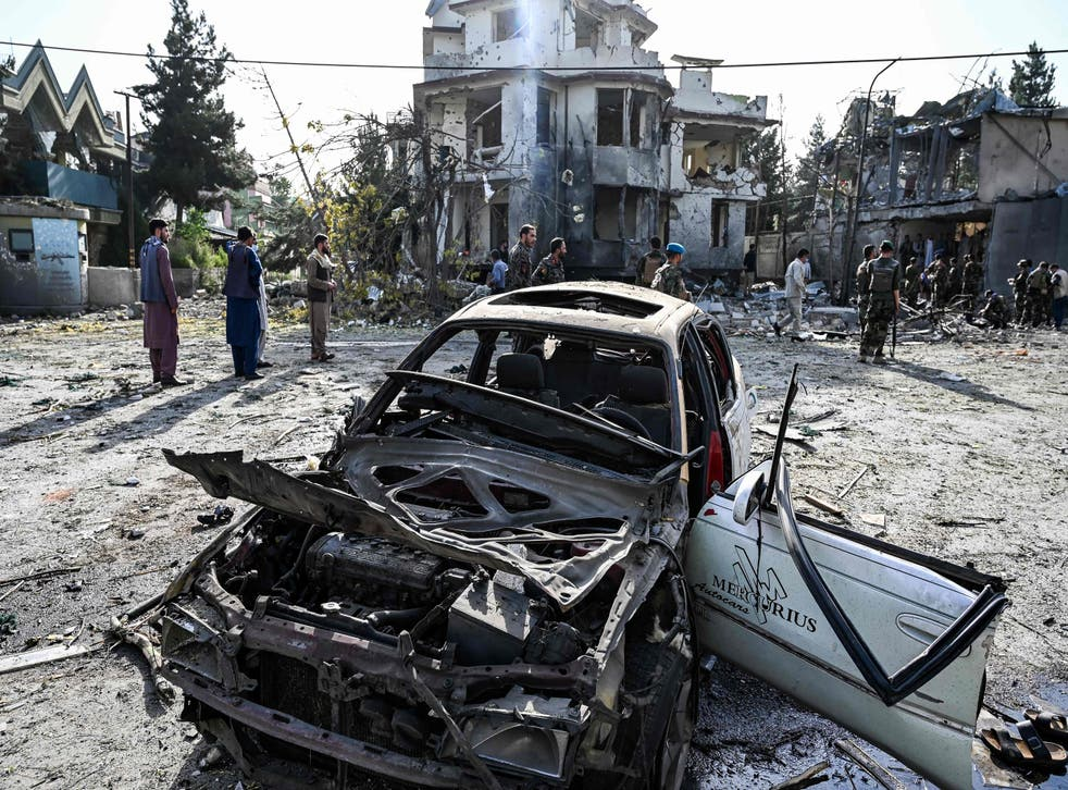 <p>The car bomb explosion in Kabul is being seen as a tactical switch by the Taliban</p>