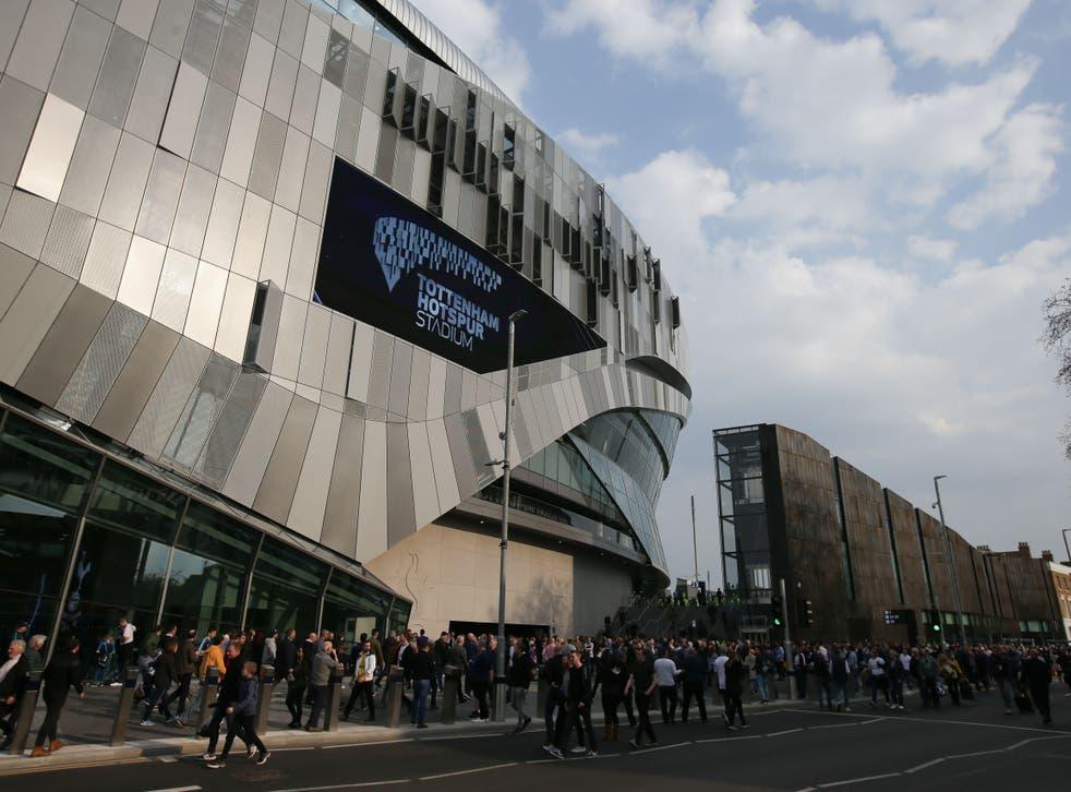 <p>Tottenham Hotspur Stadium in north London</p>