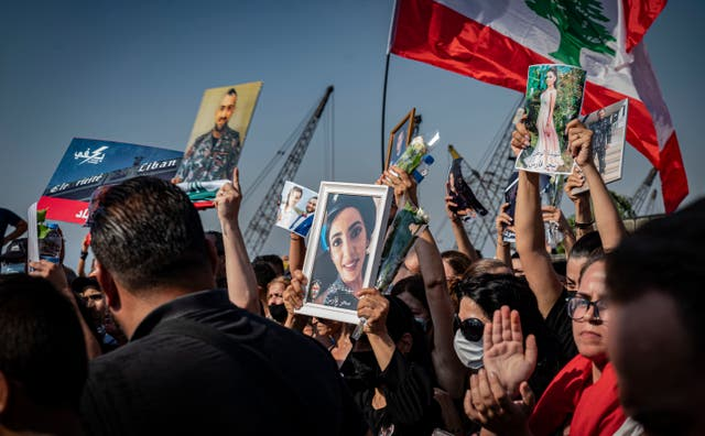 <p>The people of Lebanon are marking the one-year anniversary of the Beirut port explosion</p>