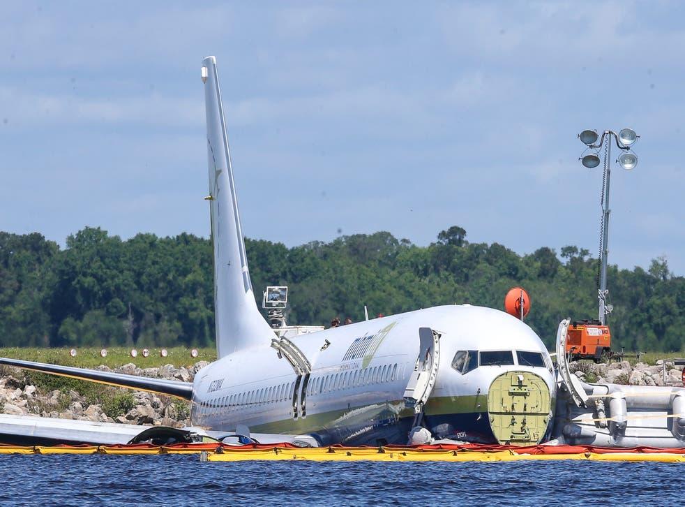 Plane Crash Florida River