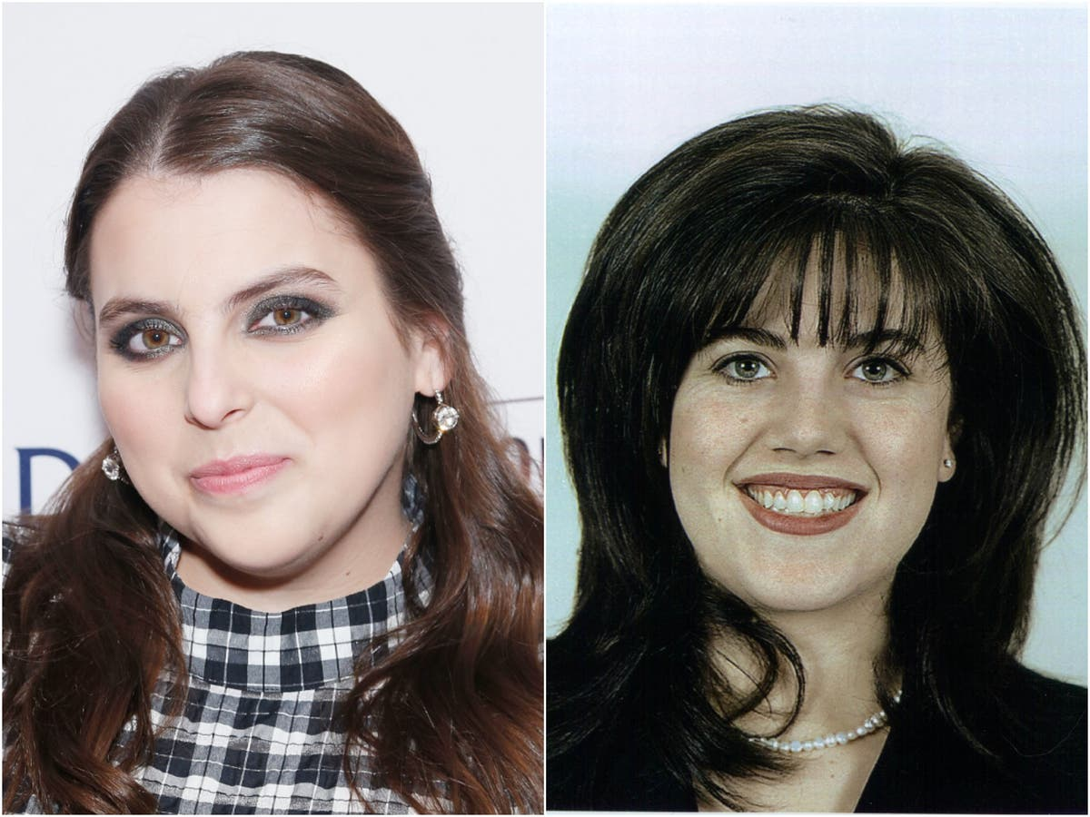 American Crime Story: Fans react to first glimpse of Beanie Feldstein as  Monica Lewinsky in Impeachment teaser | The Independent