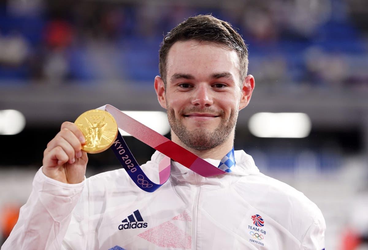 Matt Walls: Team GB's 'proper racer' in wonderland after winning Olympic omnium gold