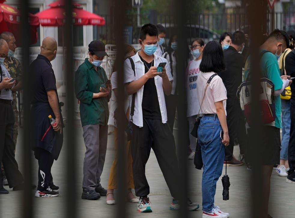 Virus Outbreak China Vaccines