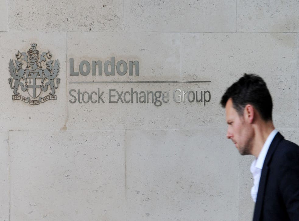London Stock Exchange Group has posted high sales and profits for the past six months (Nick Ansell/PA)