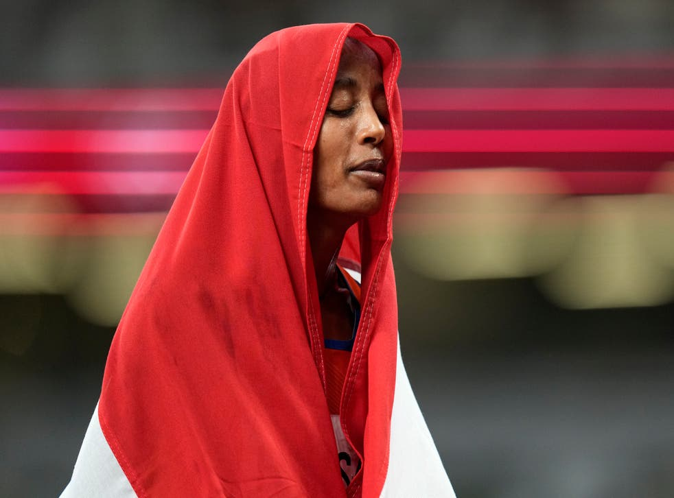 Tokyo Olympics Athletes and Flags Photo Gallery