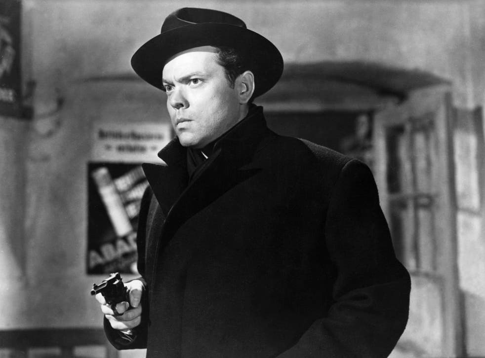 <p>Orson Welles plays anti-hero Harry Lime in  the 1949 film adaptation of 'The Third Man'</p>