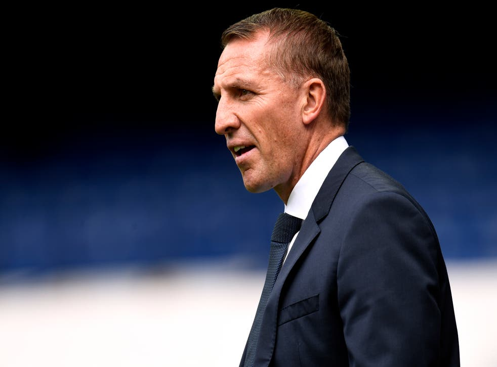 <p>Rodgers is aiming to build on last season's FA Cup victory</p>