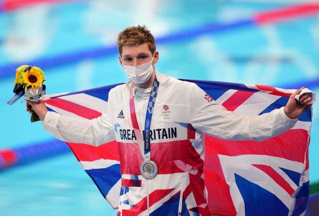 Duncan Scott won four medals in Tokyo (Joe Giddens/PA)