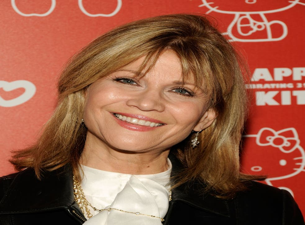 <p>File image: Markie Post at the Hello Kitty 35th anniversary in 2009</p>