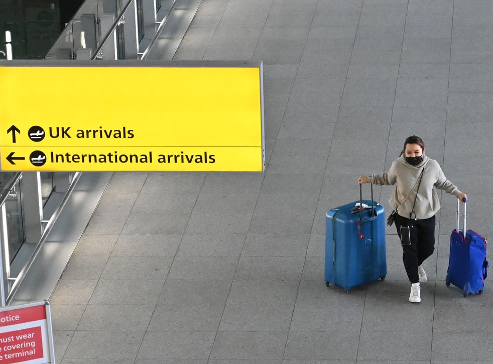 <p>Tests are required when arriving back in the UK </p>