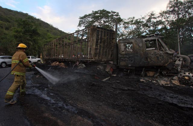 <p>Jalisco New Generation Drug Cartel has been linked to several attacks in the past, including attacking police officers</p>