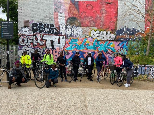 <p>Black Girls Do Bike London</p>