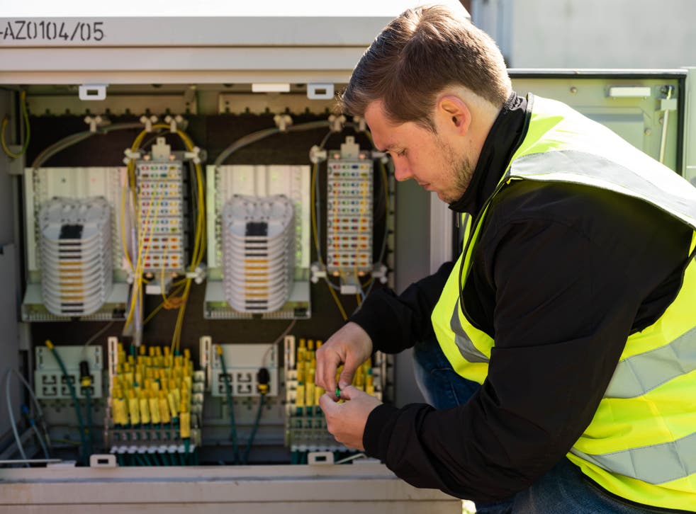 Virgin Media O2 has expanded its gigabit service to another 1.5 million homes (Virgin Media O2/PA)