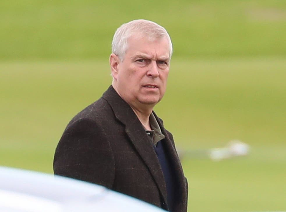 <p>Prince Andrew has been spotted arriving at Balmoral Castle after being accused of sexually abusing a Jeffrey Epstein victim</p>