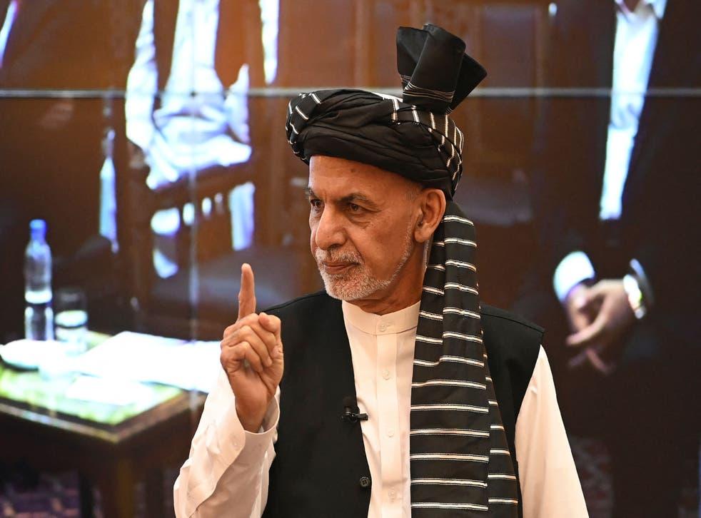 <p>President Ashraf Ghani </p>
