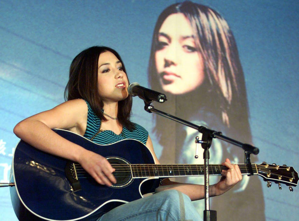 <p>'It's really a snapshot in time of what I was feeling': Michelle Branch performs tracks from 'The Spirit Room' in Taipei in 2002</p>