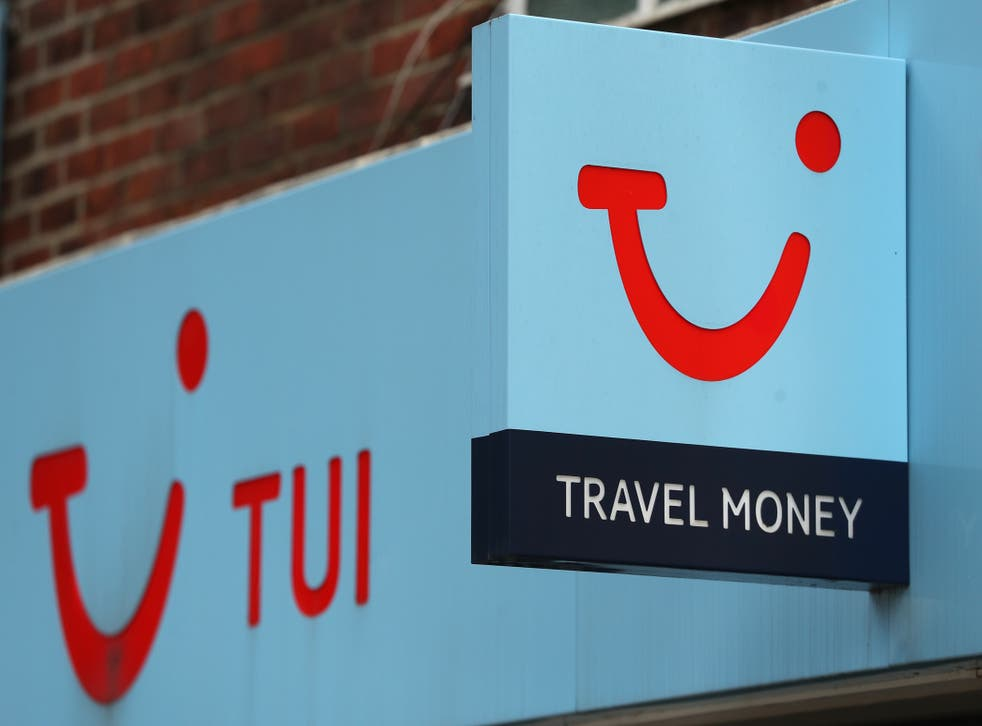 The travel giant cut its losses in the most recent quarter (Andrew Matthews/PA)