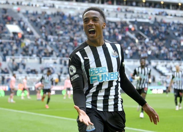 <p>Arsenal midfielder Joe Willock is joining Newcastle after a stunning loan spell last season (Stu Forster/PA)</p>