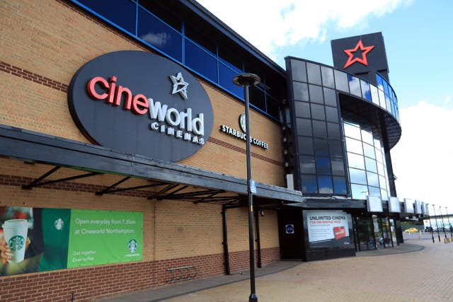 Cineworld has hiked ticket prices by 40% since reopening in the UK. (Mike Egerton / PA)
