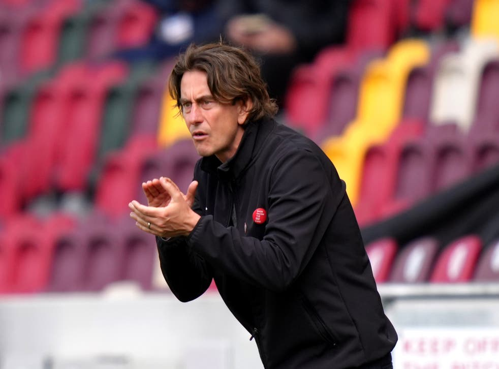 <p>Brentford have come a long way since head coach Thomas Frank took charge</p>