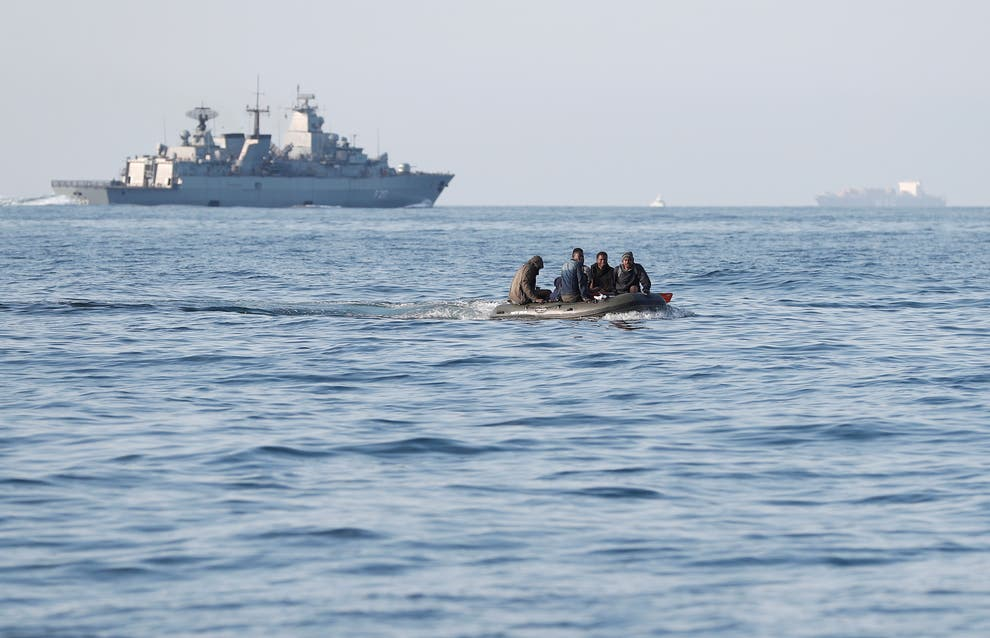 French Fishermen Help Rescue 40 Migrants Sinking in the English Channel