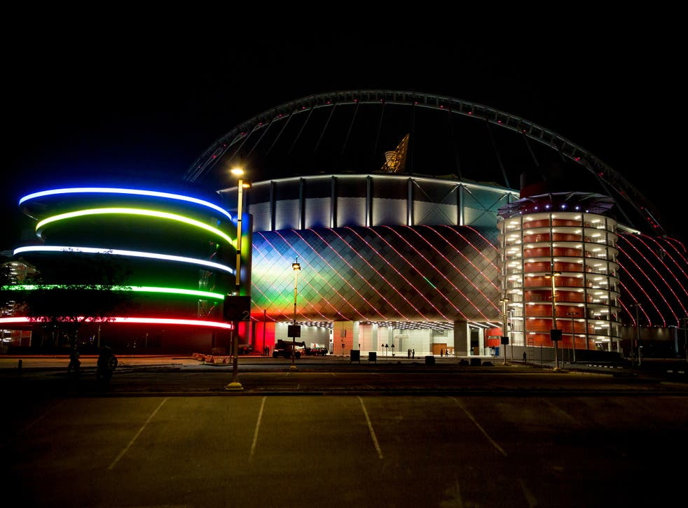<p> Qatar has stated that rainbow flags can be displayed at stadiums during the 2022 World Cup </p>