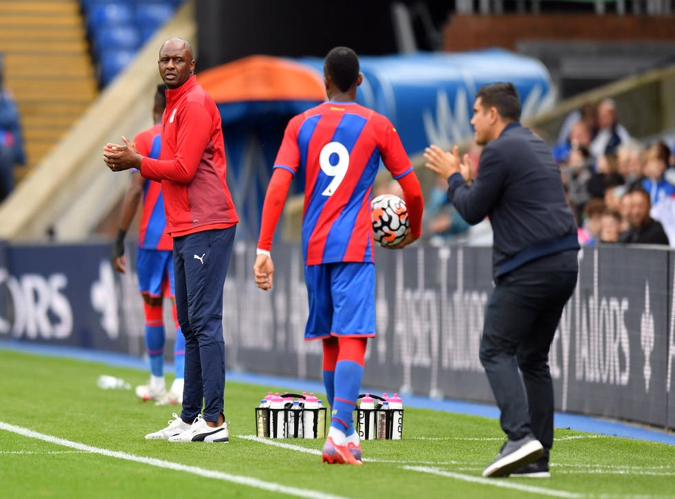 Patrick Vieira will get his Crystal Palace tenure under way at Chelsea on Saturday (Ashley Western/PA)