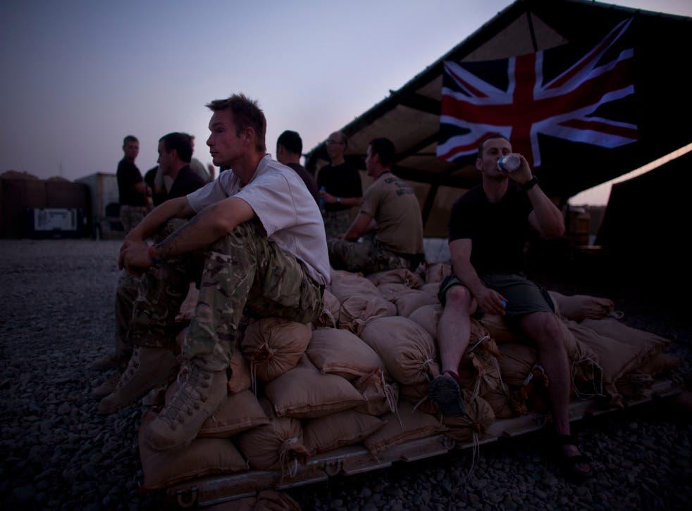 Britain Afghanistan Helmand