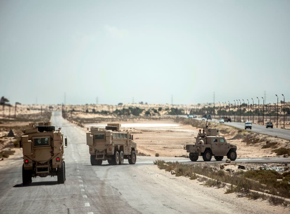 <p>Egypt has been battling militants in North Sinai for years</p>