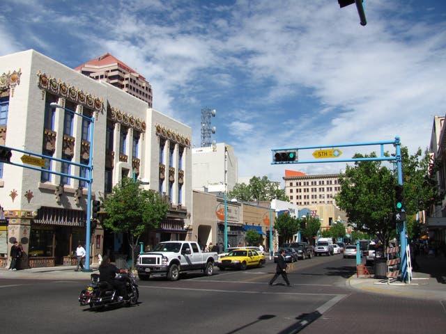 <p>Downtown Albuquerque, New Mexico.</p>