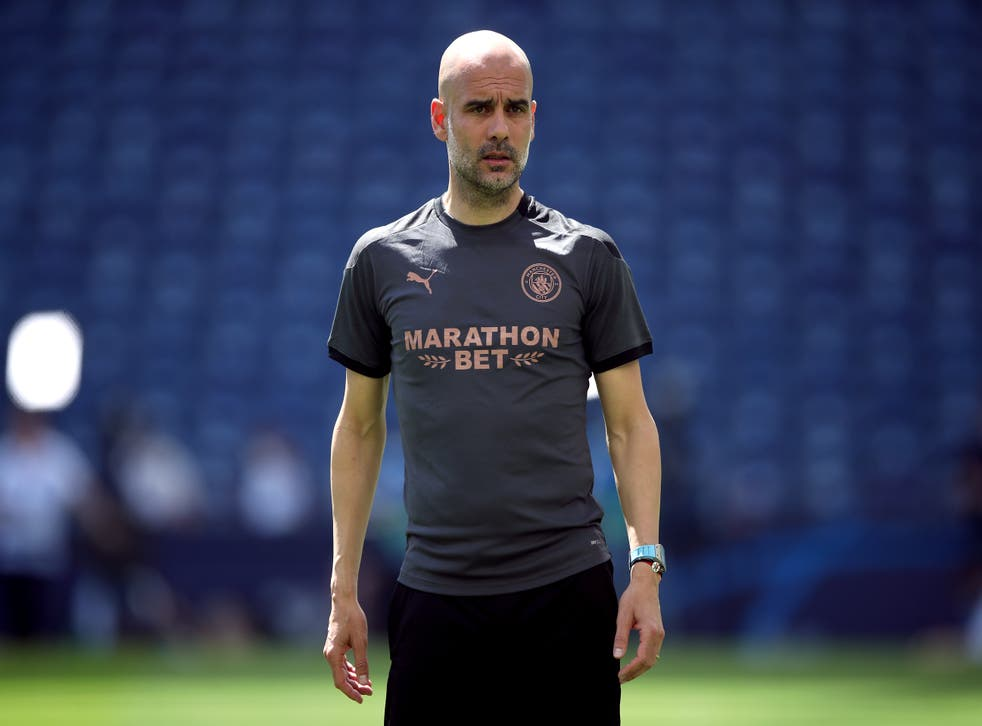 Pep Guardiola feels his Manchester City side are not fully prepared for the new season (Nick Potts/PA)