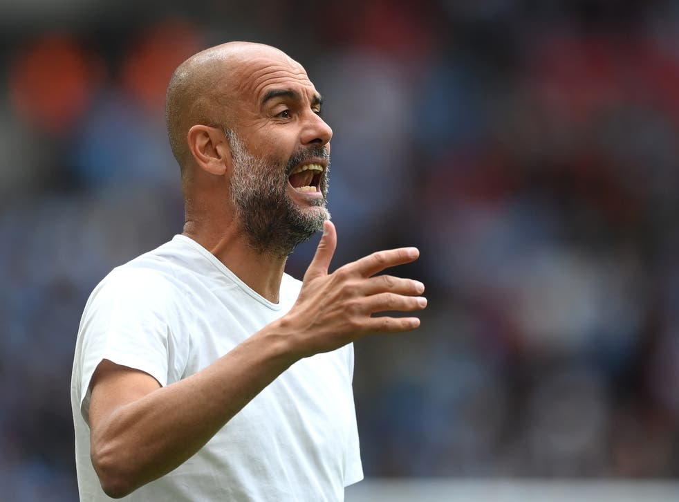 <p>Pep Guardiola's side broke the British transfer record when they signed Jack Grealish for £100m </p>