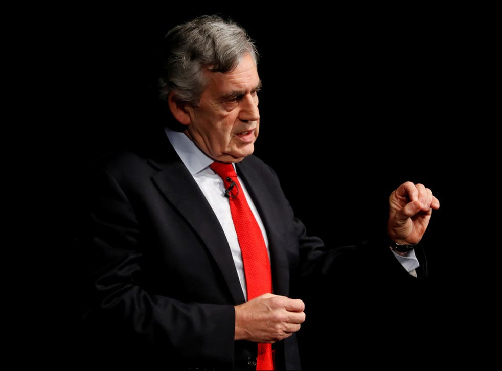 <p>Gordon Brown called the reduction 'morally indefensible'.  </p>