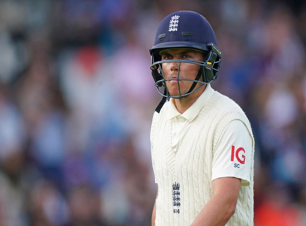 Sam Curran went for a king pair at Lord's (Zac Goodwin/PA)