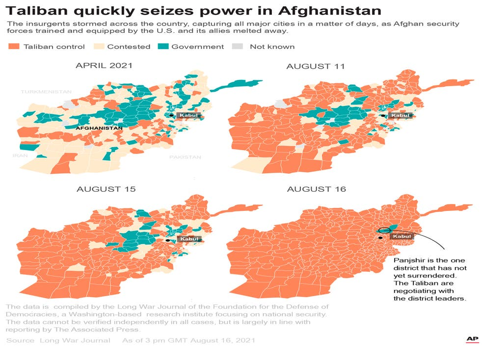 Afghanistan-Taliban-Control