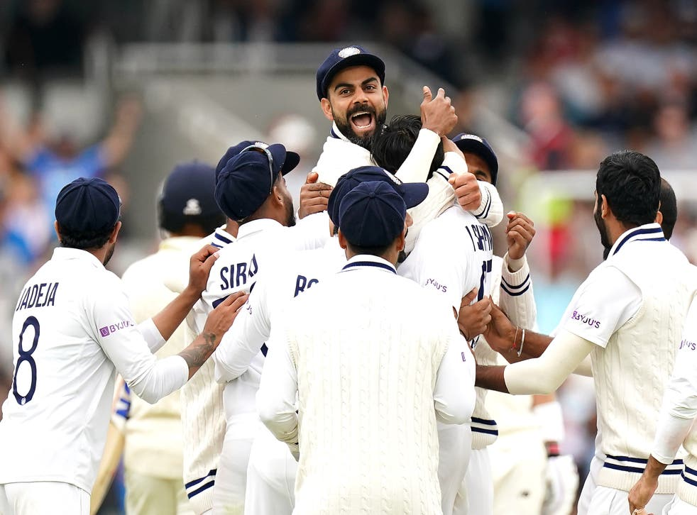 India went 1-0 up in the series (Zac Goodwin/PA)