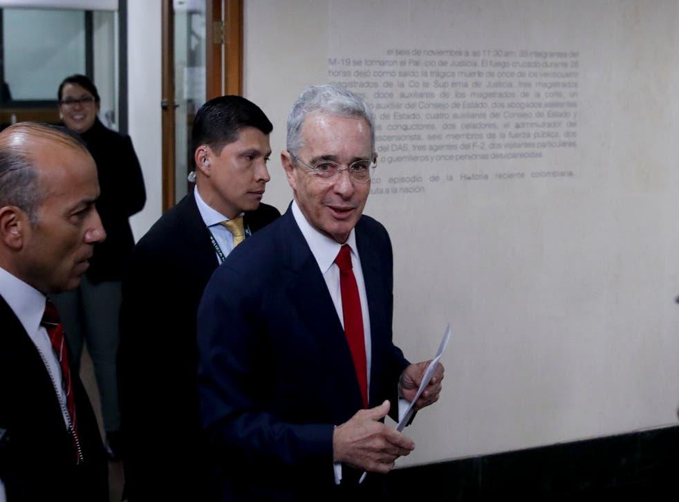 COLOMBIA-URIBE FALSOS POSITIVOS