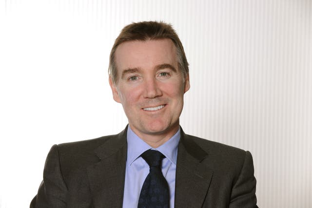 Adam Crozier is the new BT chairman (ITV/PA)