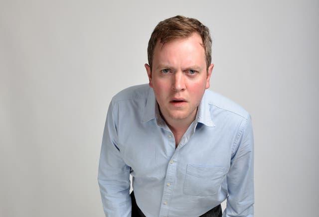 Comedian and actor Miles Jupp (Steve Ullathorne/PA)