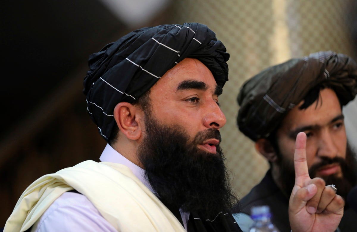 Taliban show conciliatory face at first Kabul news conference