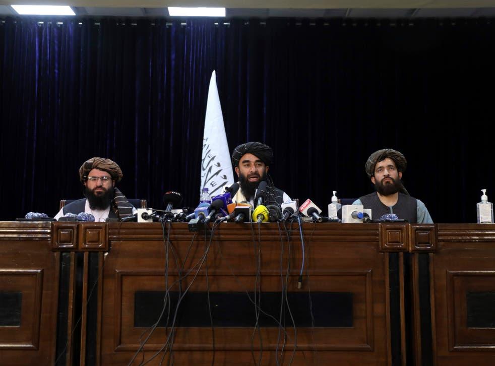 <p>Los talibanes tomaron Kabul el domingo ante la sorpresa del mundo. </p>