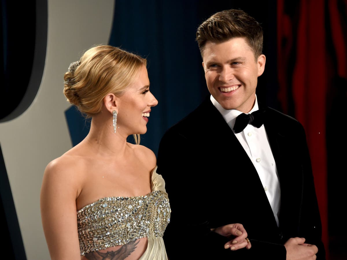 How did Scarlett Johansson and Colin Jost meet?   The Independent