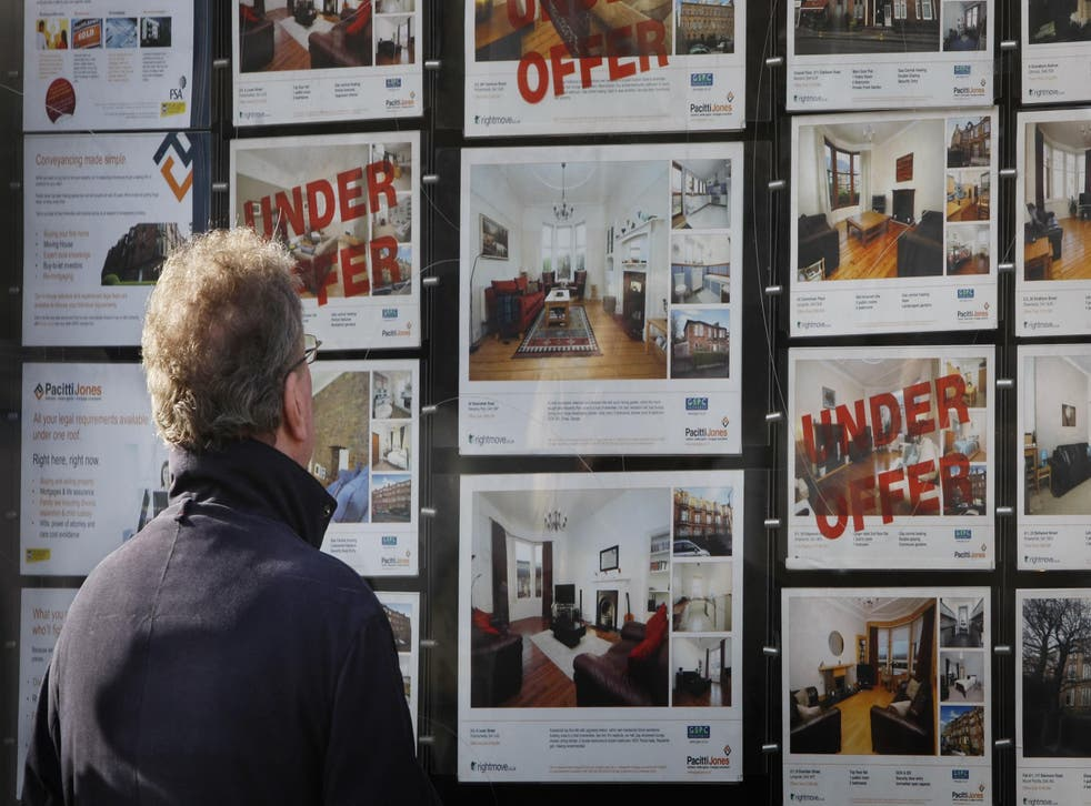 A survey found that two- fifths of young adults do not understand how a mortgage works (Danny Lawson/PA)